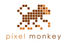 Pixel Monkey Logo