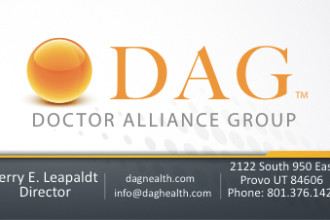 DAG Logo & Business Card