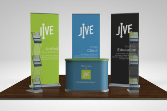 Jive Event Booth
